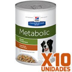 Hills Prescription Diet Latas Canine Metabolic Pack 10 Unidades