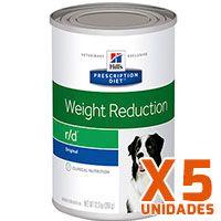 Hills Prescription Diet Latas Canine r/d Pack 5 unidades