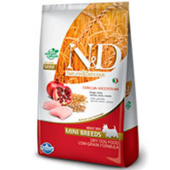 Natural and Delicious Ancestral Grain Canine Pollo y Granada Adult Mini