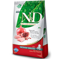 Natural and Delicious Grain Free Canine Pollo y Granada Puppy Medium