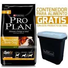 Purina Pro Plan Reduced Calorie con OptiFit 15kg + Contenedor Gratis!