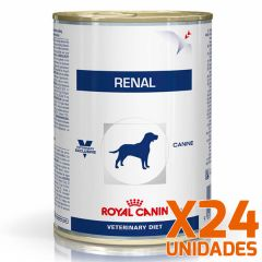 Royal Canin Latas Vet Diet Canine Renal Support x 24 Unidades