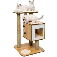 Vesper Furniture V Base Walnut Rascador para gatos