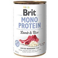 Brit Care Mono Protein Cordero y Arroz