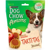 Dog Chow Abrazzos Tiritas con Manzanas