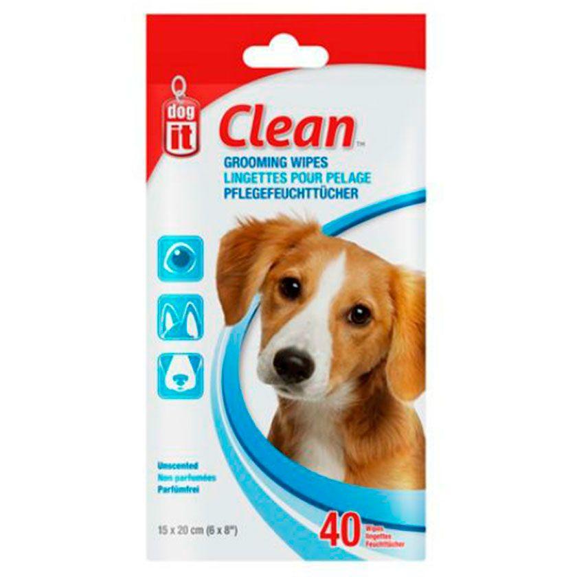 Dog it Paños humedos 40 unidades