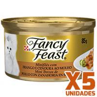 Fancy Feast - Pollo con Zanahoria x 5 unidades