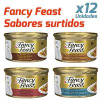 Fancy Feast - Sabores Surtidos - 12 Unidades