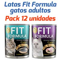 Fit Formula Latas - Surtido Para Gatos Adultos - Pack 12 unidades