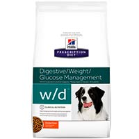 Hills Prescription Diet Canine w/d Low Fat