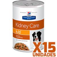 Hills Prescription Diet Latas Canine k/d Renal Pack 15 Unidades
