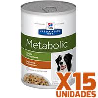 Hills Prescription Diet Latas Canine Metabolic Pack 15 Unidades