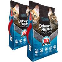 Odour Buster Multi Cat - Arena Sanitaria Super Premium Pack 24kg
