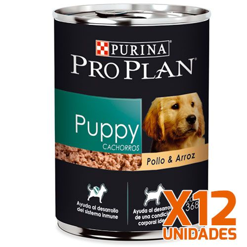 Purina Pro Plan Lata Perro Cachorro Pack 12 Unidades