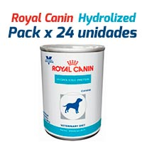 Royal Canin Latas Vet Diet Canine Hydrolyzed Protein x 24 Unidades