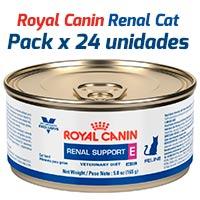 Royal Canin Latas Vet Diet Felino Renal Spport x 24 Unidades