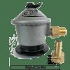Regulador para gas c/salida flexible 3/8 Hilo izq.1