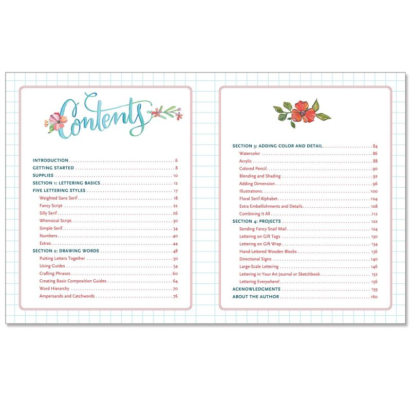 Libro Guía Hand Lettering