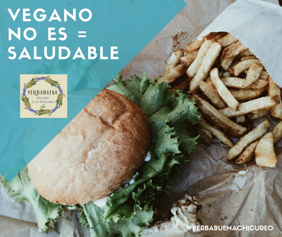 Consejos: Vegano=Saludable