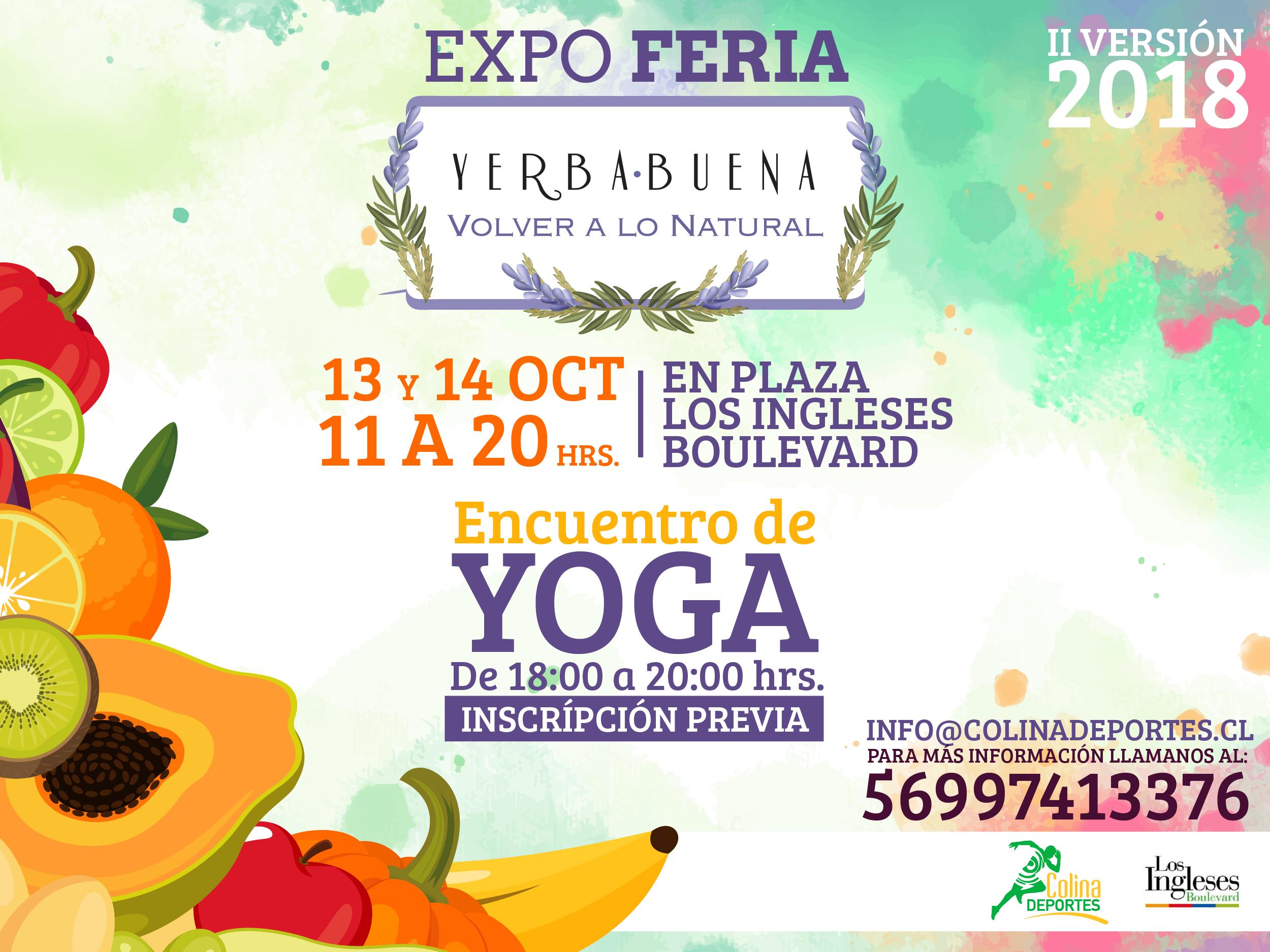 II versión: EXPO YERBA BUENA