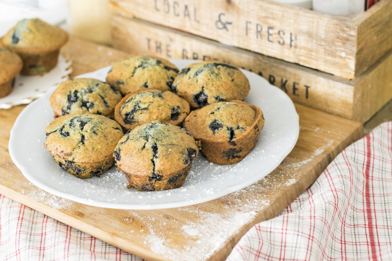 Receta: Muffins de Arándanos