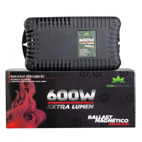 Balastro magnético Solar Ray 600W Grow G