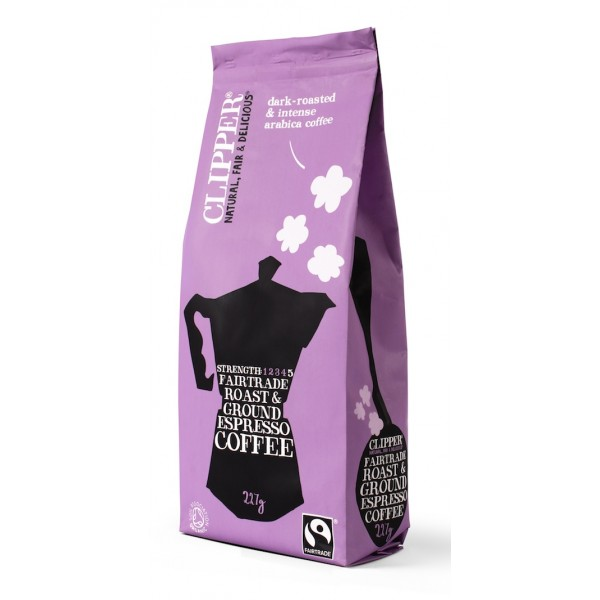 CAFE ESSPRESSO GROUND ROAST ORGANIC 227 GRS