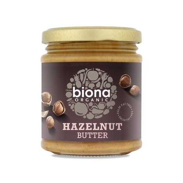 HAZELNUT BUTTER ORGANIC 170 GRS