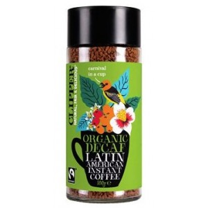 CAFE LATIN AMERICAN DECAF INSTANT ORGANIC COFFEE 100 GRS