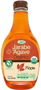 AGAVE SYRUP MAPLE ORGANIC 660 GRS