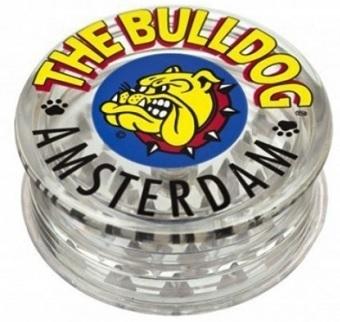 Moledor Bull Dog plástico transp. COLOR 2 piezas