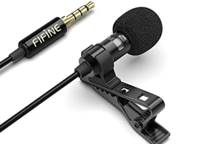 Microfono Solapa Clip Fifine C21