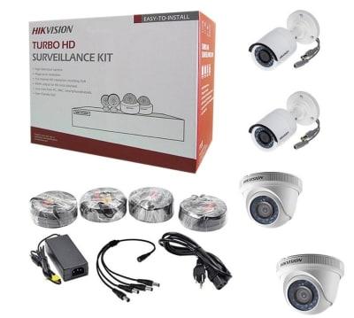Kit CCTV DVR 1TB + 4 CAMARAS HIKVISION1