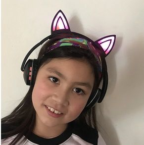 Audifono Bluetooth Cat Ear4