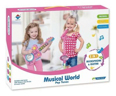 Musical World Rosado 2 en 1 Junneca1