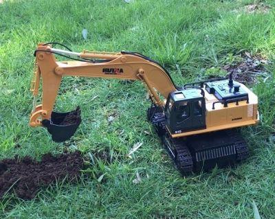 Excavadora a control remoto