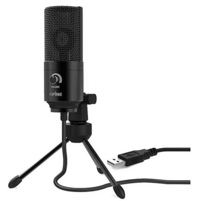 Microfono Condensador Fifine USB K669B2