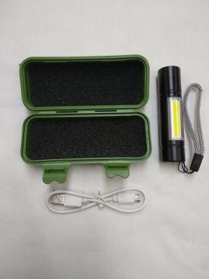 Linterna Mini táctica USb Led Emergencia