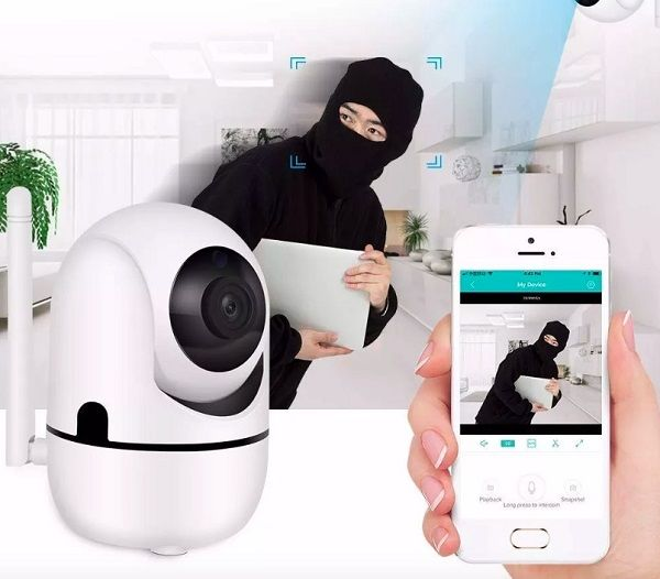 Cámara Wifi con sensor de movimiento