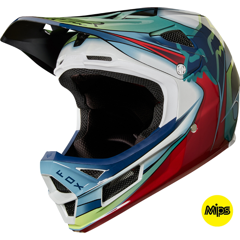 Casco Rampage Carbon Kustm Wht/Rd/Blk