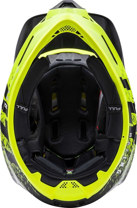 Casco Werx Carbon Imprint Black/Hi-Vis