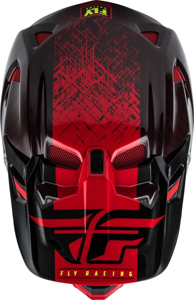 Casco Werx Carbon Imprint Black/Red