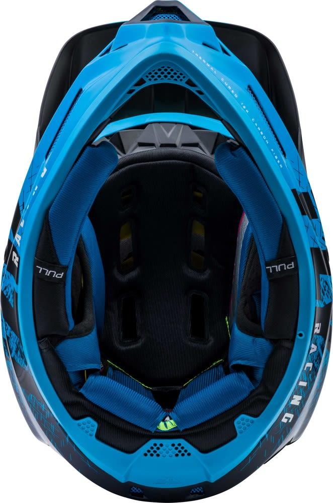 Casco Werx Carbon Imprint Black/Blue