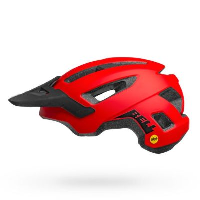 Casco Nomad Mips MAT RED/BLK1
