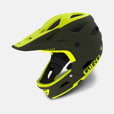 Casco Switchblade MIPS Matte Olive-Citron