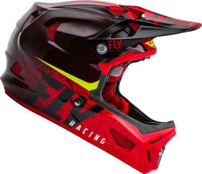 Casco Werx Carbon Imprint Black/Red