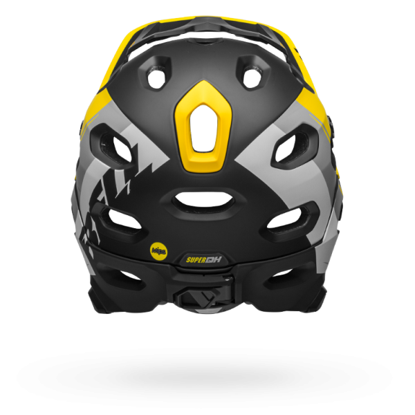 Super DH Mips Yellow/Silver/Black
