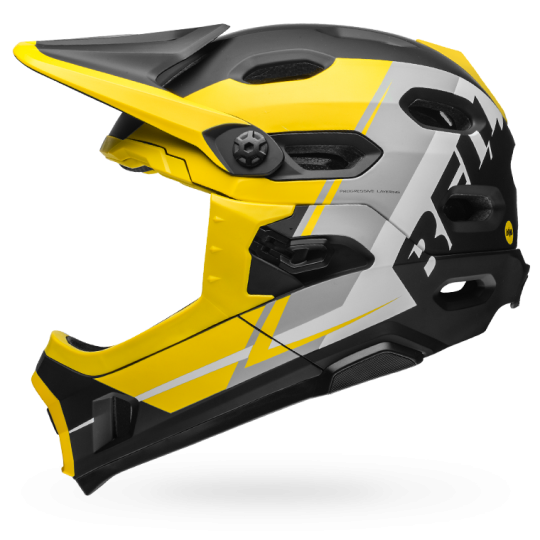 Super DH Mips Yellow/Silver/Black