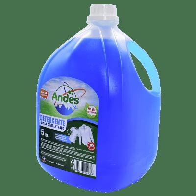 Detergente Líquido Andes Azul 5 litros