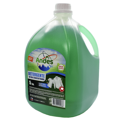 Detergente Líquido Andes Verde 5 litros